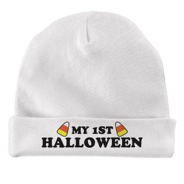 My 1st Halloween Infant American Apparel Baby Hat