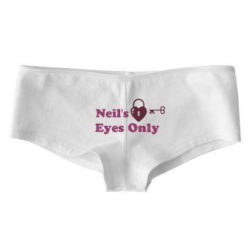 Neils Eyes Only Bella Contrast Satin Trim Thong