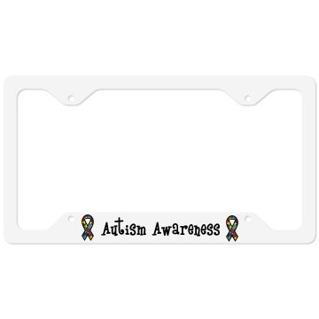 Autism Awareness License Plate Cover