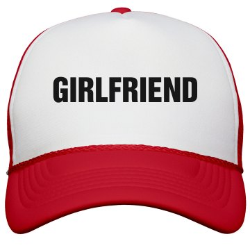 Girlfriend Trucker Hat KC Caps Poly-Foam Snapback Trucker Hat