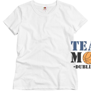 Dublin HS Team Mom Misses Relaxed Fit Basic Gildan Ultra Cotton Tee