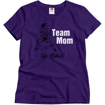 Team Basketball Mother Misses Relaxed Fit Gildan Ultra Cotton Tee
