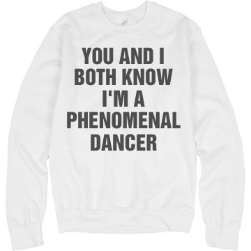 Phenomenal Dancer Junior Fit Bella 1x1 Rib Cap Sleeve Raglan Tee