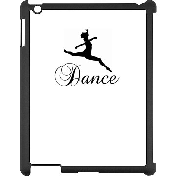 Dance iPad Case Black iPad Snap-on Case