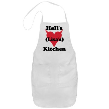Lisa&#x27;s Hell&#x27;s Kitchen Port Authority Adjustable Full Length Apron