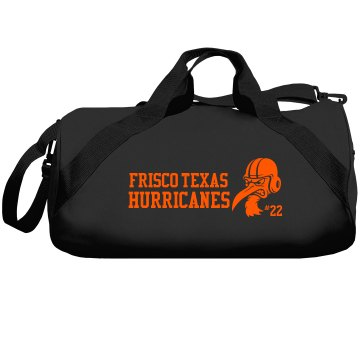 Frisco Texas Hurricanes Liberty Bags Barrel Duffel Bag