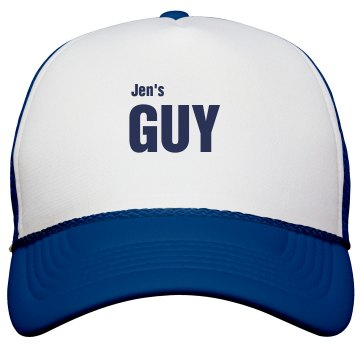 Jen's Guy Trucker Hat KC Caps Poly-Foam Snapback Trucker Hat