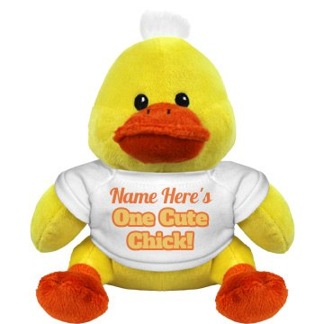 The Cute Chick Annie Plush Duckie