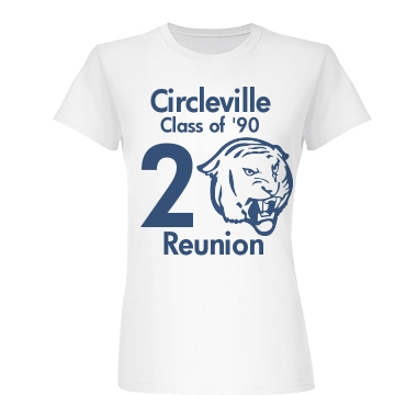 20 Year Class Reunion Junior Fit Basic Bella Favorite Tee