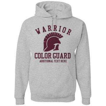 Warrior Color Guard Unisex Gildan Heavy Blend Hoodie