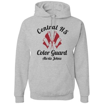 Central HS Color Guard Unisex Gildan Heavy Blend Hoodie