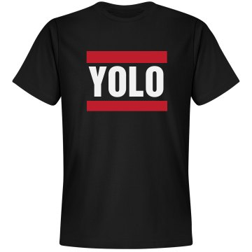 YOLO Unisex Gildan Heavy Cotton Crew Neck Tee