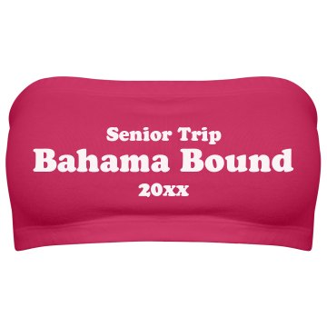 Senior 2013 Trip Bahamas Junior Fit Bella Sheer Longer Length Rib Tank Top