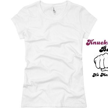 Knuckle Ballers Junior Fit Basic Bella Favorite Tee