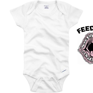 Feed Me Baby Shark Infant Gerber Onesies