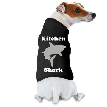Kitchen Shark Doggie Skins Dog Ringer Tee