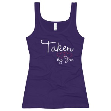 Taken Junior Fit Bella Sheer Jersey Longer Length Tank Top