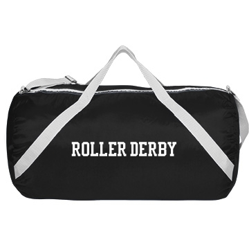 Roller Derby w/ Back Augusta Sport Roll Bag