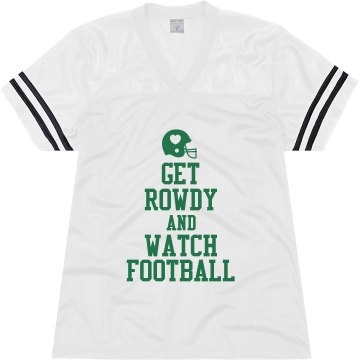 Keep Calm Football Mesh Junior Fit Augusta Replica Football Jersey