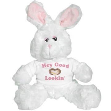 Happy Easter Jen! Plush Bunny