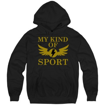 My Kind Of Sport Unisex Hanes Ultimate Cotton Heavyweight Hoodie