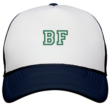 BF Trucker Hat KC Caps Poly-Foam Snapback Trucker Hat