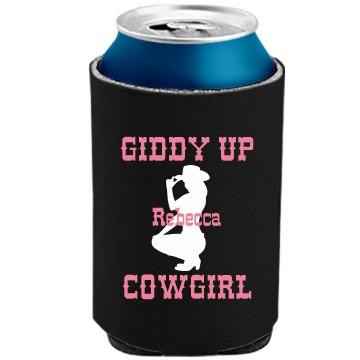 A Cowgirl's Can The Official KOOZIE Can Kooler