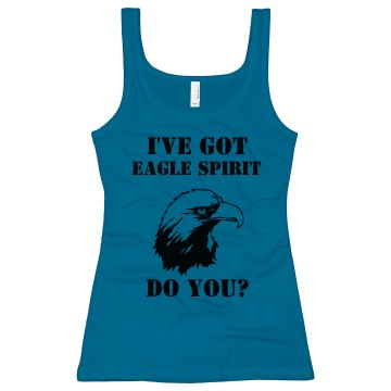 Eagle Spirit Junior Fit Bella Longer Length 1x1 Rib Tank Top