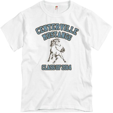 Mascot Class Of Tee Unisex Basic Gildan Heavy Cotton Crew Neck Tee
