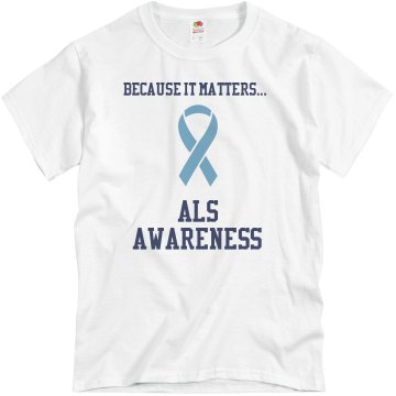 Because It Matters...ALS Unisex Basic Gildan Heavy Cotton Crew Neck Tee