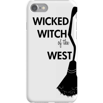 Witch Of The West iPhone Plastic iPhone 5 Case Black