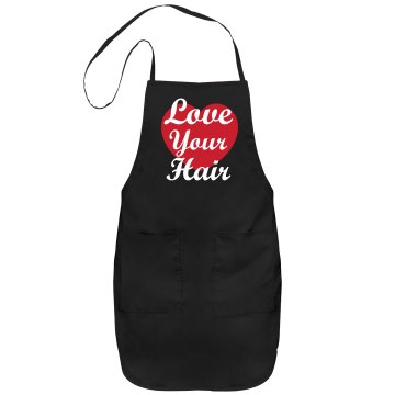 Love Your Hair Apron Port Authority Adjustable Full Length Apron
