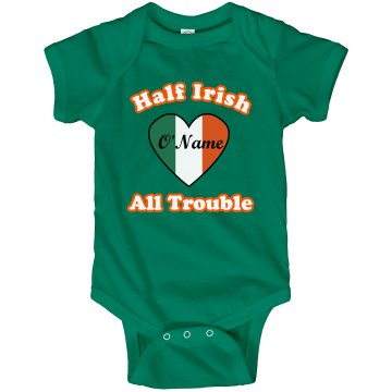 Half Irish Infant Rabbit Skins Lap Shoulder Creeper