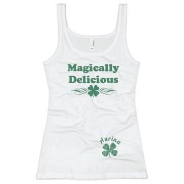 Magically Delicious Junior Fit Basic Bella 2x1 Rib Tank Top