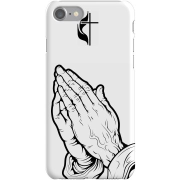 Praying To Cross iPhone Plastic iPhone 5 Case Black