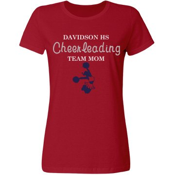 Davidson HS Team Mom Misses Relaxed Fit Gildan Ultra Cotton Tee