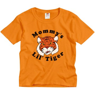 Kid&#x27;s Tiger Tee Youth Gildan Ultra Cotton Crew Neck Tee