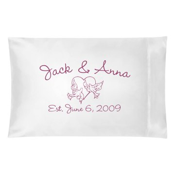 Jack & Anna Pillowcase