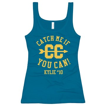 Catch Me Cross Country Junior Fit Bella Longer Length 1x1 Rib Tank Top