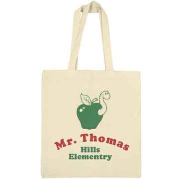Teacher Tote Liberty Bags Canvas Bargain Tote Bag