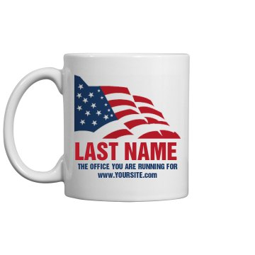 Election Template Mug 11oz Ceramic Coffee Mug