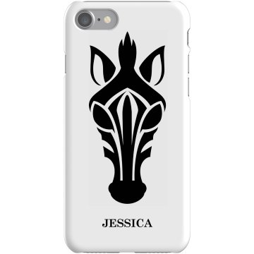 Zebra iPhone 5 Case Plastic iPhone 5 Case White