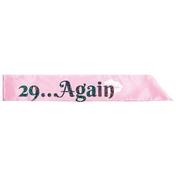29...Again Sash