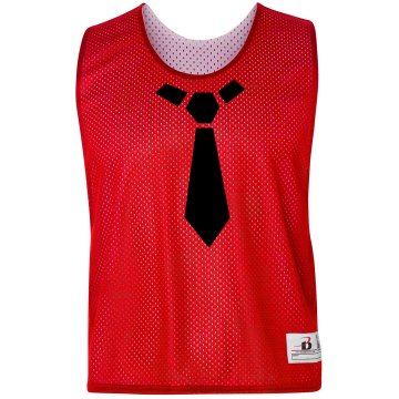 Tie LAX Pinnie Badger Sport Lacrosse Reversible Practice Pinnie