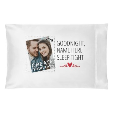 Goodnight Sweetheart Pillowcase