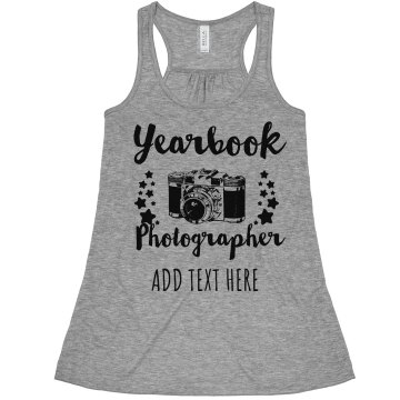 Yearbook Photographer Misses Bella Flowy Lightweight Tank