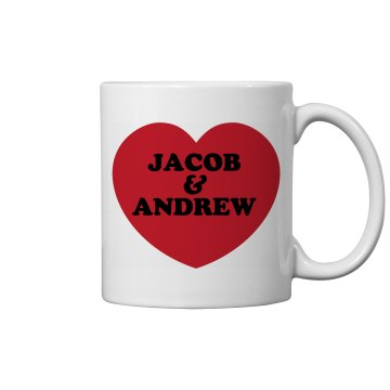 Photo Mug for Dad w/ Back 11oz Ceramic Coffee Mug