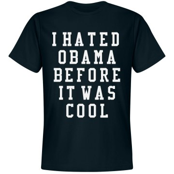 Cool To Be Anti-Obama Unisex Gildan Heavy Cotton Crew Neck Tee