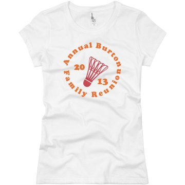 Annual Family Reunion Junior Fit Basic Bella Favorite Tee
