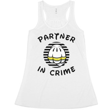 Partner In Crime 2 Misses Bella Flowy Boxy Lightweight Crop Tank